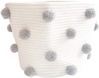 ZYING Tissé à la main Tissu Coton Coton Descopes Dirty Vêtements Buanderie Chambre à coucher Chambre à coucher Chambre à c...