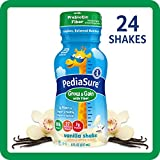 Pediasure Grow & Gain with Fiber Kids' Nutritional Shake Vanilla Ready-to-Drink 4-6-8 Fl Oz...