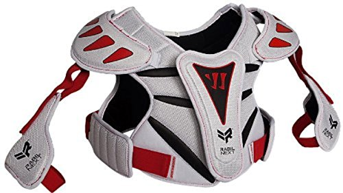 Warrior Youth Rabil NXT Shoulder Pad, White, Large