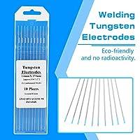 溶接タングステン電極タングステン電極タングステン電極ロッド長い溶接機に使用(1.6mm*175mm)