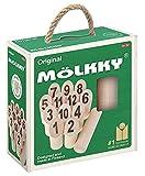 Tactic Mölkky in scatola di cartone con manico - 2018 versione 54903 Misto