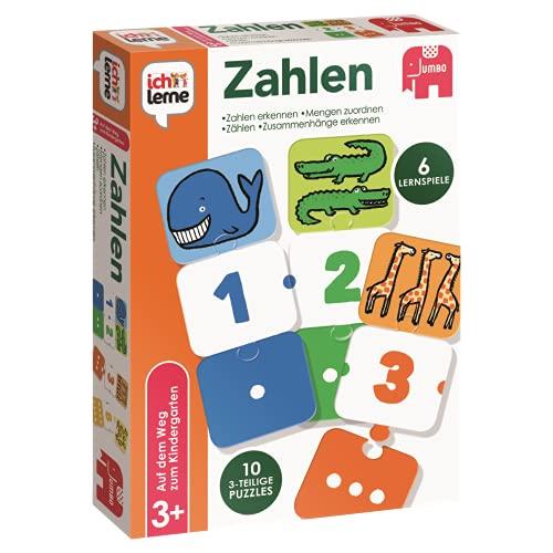Jumbo Spiele ich lerne Zahlen - Lernspiel für...