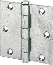 Scharnier voor zware meubels, scharnier, aftrekstift (maat 5 x 5 inch, 125 x 130 mm, 6 stuks)