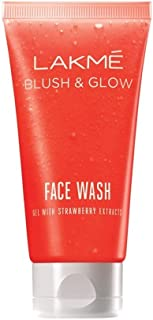 Lakme Blush & Glow Strawberry Gel Face Wash 50 g