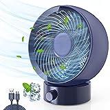 Ventilatore USB, Gifort Mini Ventilatore Portatile, Silenzioso Ventilatore da Tavolo, con ...