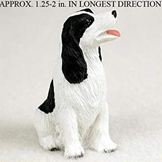 Ky & Co YesKela Springer Spaniel Mini Hand Painted Figurine Blk