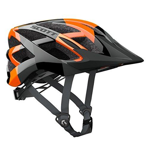 Scott Spunto Fahrrad Kinder Helm Einheitsgröße 50-56cm camo orange/schwarz 2018