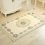 Ukeler Rustikaler Teppich mit Blumenmuster für Wohnzimmer, Schlafzimmer, Esszimmer Country Rustic 23.6''x35.4'' Ländliche Blume
