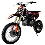 X-PRO 125cc Dirt Bike Pit Bike Kids Dirt Pitbike 125 Dirt Pit Bike (Black)
