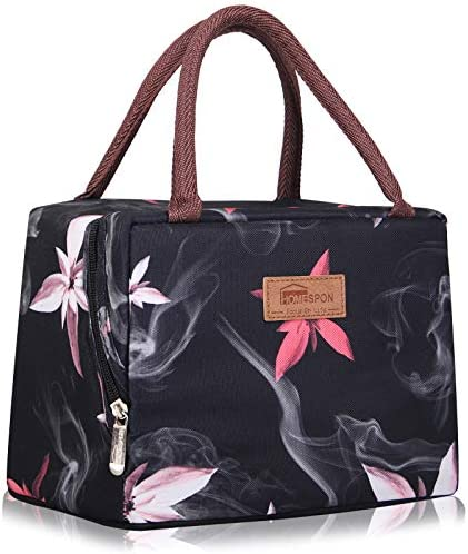 HOMESPON Lunch Bag Insulated Tote Bag Lunch Box Resuable Cooler Bag Lunch Container Waterproof product image
