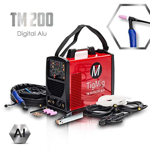 Soldador Inverter Tig TM200 Digital Alu, CA-CC, 200A, 60% de...