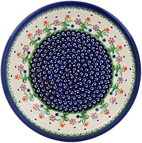 Polish Pottery Pasta Bowl online Store shopping Spring Flowers 9-inch