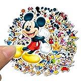 Qemsele Autocollants Stickers pour Enfants, 100+ Pièces vinyles Graffiti pour Fille Garcon Super héros Stickers de fête pour Ordinateur Portable, Voitures, Moto, vélo, Skateboard Bagages(Mickey)