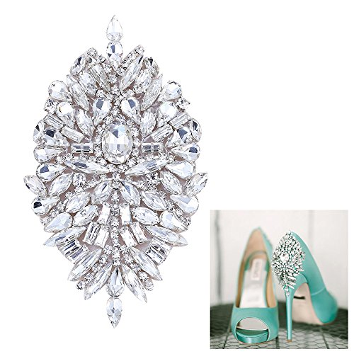 Top 10 best selling list for flat slingback shoes with jewel appliqué