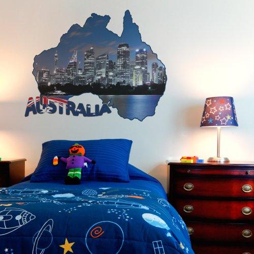 sticker mural 67x50 cm autocollants 67x50 040103-11