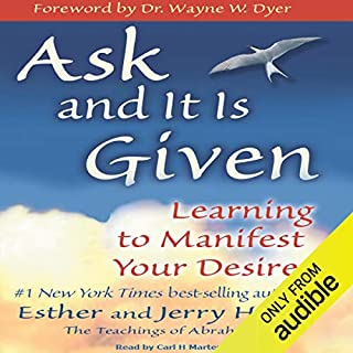 Ask and It Is Given audiobook cover art