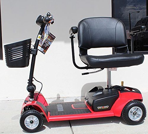 Pride Go-Go Ultra X SC44X 4-Wheel Electric Travel Scooter for Adults, 12ah Battery Pack
