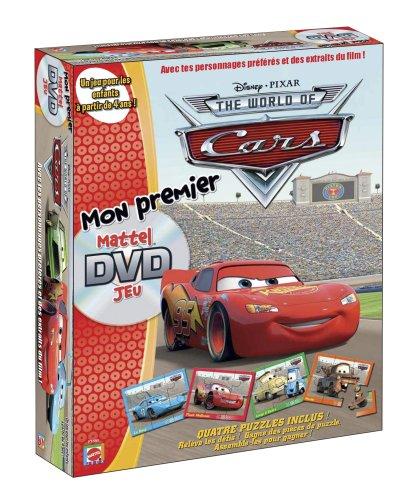 Mattel - P1869 - Jeu de Plateau avec DVD - Jeu DVD Cars