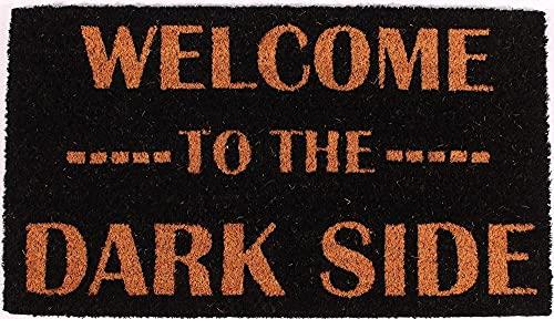 1art1 Humor - Welcome To The Dark Side Felpudo Alfombra (70 x 40cm)