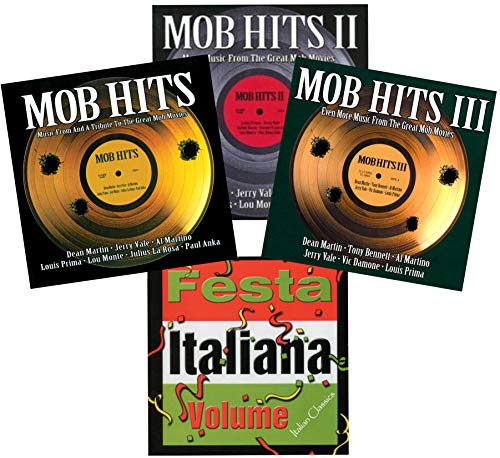 Mob Hits: Tribute to Great Mob Movies Complete Collection 1-2-3 & Extra CD Festa Italiana (5 Discs)