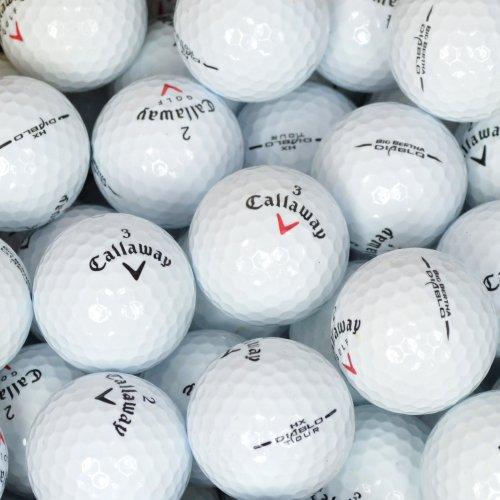 Second Chance Golfbälle 100 Callaway Diablo Lake A-Qualität, weiß, PRE-100-BOX-CAL-DIABLO