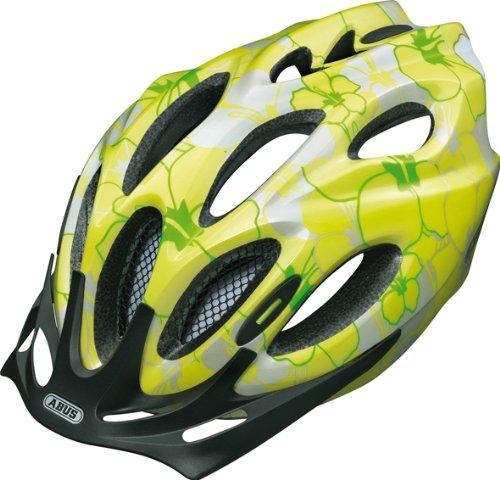 Abus - Chaox Casco da bici per bambini, Verde lime, 48-54 cm