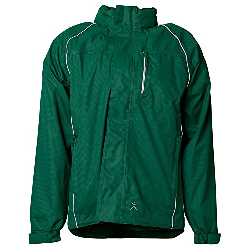 Größe L Herren Planam Outdoor Regen Monsun Jacke grün Modell 1473