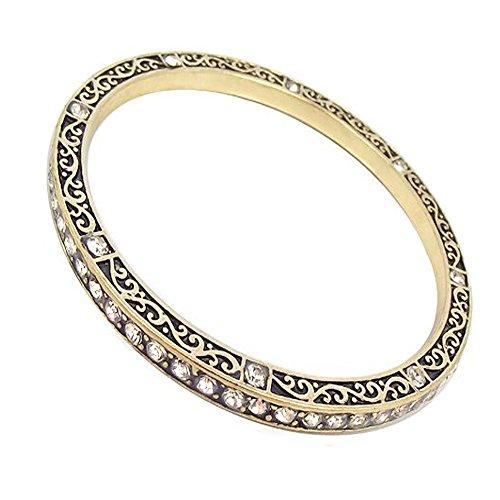 nobel-schmuck Armreif Gold Ornament Hippie Style Antikisiert