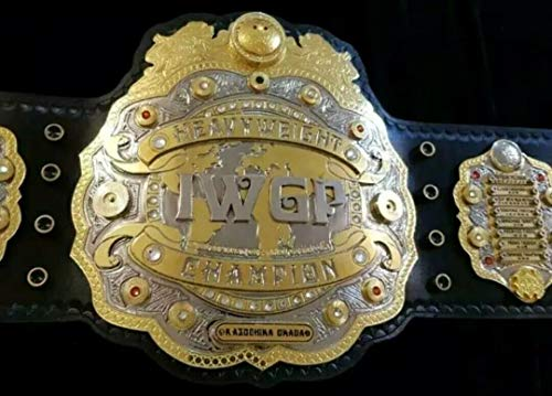 Regalia Craft IWGP Heavy Weight Wrestling Championship Belt .Adult Size Dual Plated 4mm Gold Plated