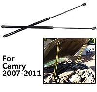 2 個フロントフードボンネットストラットショックブーツサポートガススプリングストラットためトヨタカムリ 2007 から 2011 セダン 2008
