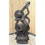 Saraswati Goddess Indian Japanese Garden