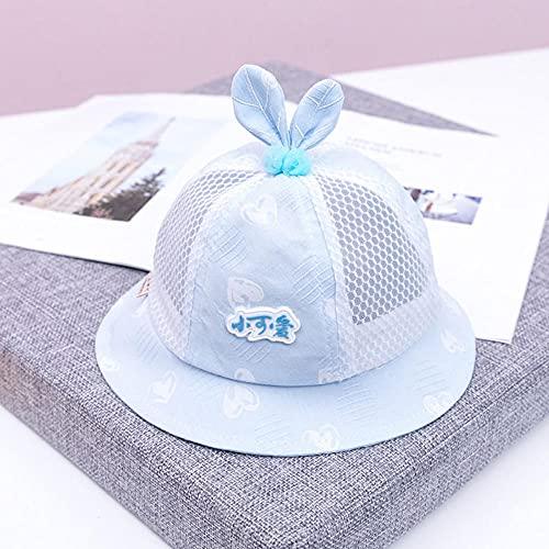 MIBQM Unisex Bebé de Verano Sombrero de Sombrero de Sombrero bebé Pescador de bebé 6-24 Meses-H