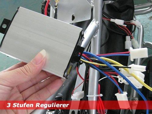 3 Stufen Regulierer für Elektro Quads Eco Quads 36V 800W Geschwindigkeit Regler