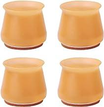 Flourishin-1 4 stks Silicium Meubelen Beenbescherming Cover Tafelvoeten Pad Floor Protector voor Stoel Been Anti-Slip Tafe...