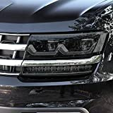 JHSOP Car Headlight Protective Film Taillight Smoked Black Tint Wrap Vinyl TPU Sticker, for Volkswagen VW Atlas Teramont 2017-2019