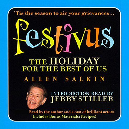 Festivus audiobook cover art