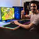 Zoom IMG-2 tappetino mouse gaming rgb grande