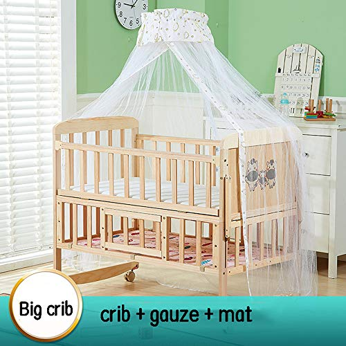 Buy Dzhyy Crib Multi-Function Game Bed Newborn Bed Can Be Stitched Children's Bed,Package 3,Large