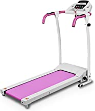 Goplus Folding Treadmill Electric Motorized Power Fitness Running Machine with LED Display and Mobile Phone Holder Perfect for Home Use