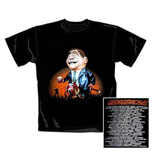 George Michael - T-Shirt Inflatable (in S)