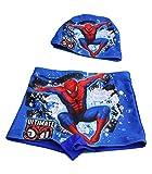 My Sunshine – Bañador con gorro – Bañador para niño (2 piezas) Spiderman XL