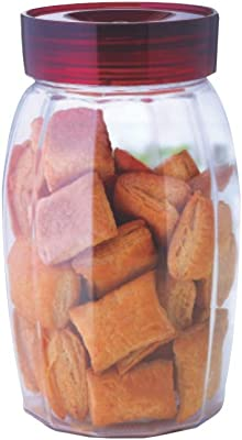 Borosil - Storefresh Canister Glass Jar for Kitchen Storage, 1.2 L