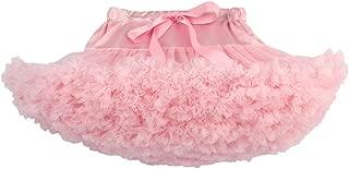 XYDS Women's Chiffon Petticoat Tutu Skirt 2 Layered Ballet Dance Pettiskirt Mini Skirt Free Size XL