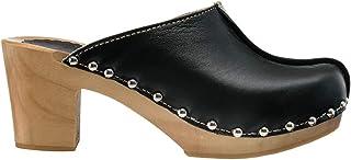 ESTRO Sabots Femme en Cuir Chaussures Hôpital Mules Femmes Sabots Orthopédiques CDL03