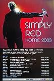 Simply Red: Home 2003 | original UK Promo Poster [51 x 76