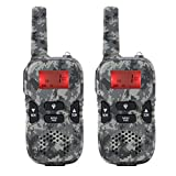 Walkie-talkie per Bambini, 2 Pezzi Mini Walkie-talkie per Bambini con Display LCD, Radio B...