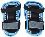 K2 Damen Schoner Inline Skates Pad Set PERFORMANCE W WRIST GUARD, Mehrfarbig (Blau/Schwarz), M