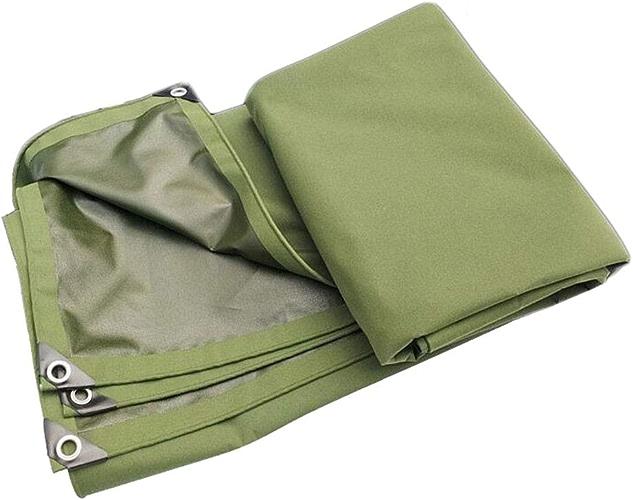 HongTeng Bache antipluie en Polyester 550g   m2 idéale pour Les abris de Camping, Car (Taille   6x4m)
