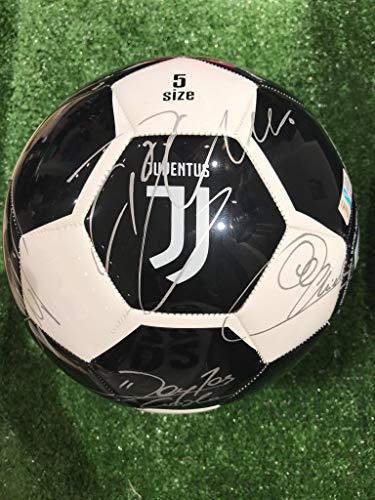 Pallone Nerobianco Autografato F.C. Juv Juventu 2020/2021 Firmata Firme Giocatori
