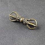 WPXBF Büsten Tibet Buddhismus Handgemachte alte Kupfer acht Drachenkopf Halskette Schmuck Tibet buddhistische Auto Dekoration